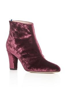 SJP by Sarah Jessica Parker Minnie Velvet High-Heel Booties - 100% Exclusive