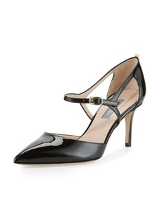 SJP Phoebe Patent Mary Jane Pumps