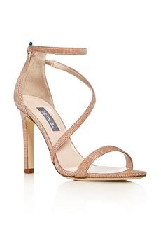 SJP by Sarah Jessica Parker Serpentine Glitter High-Heel Sandals