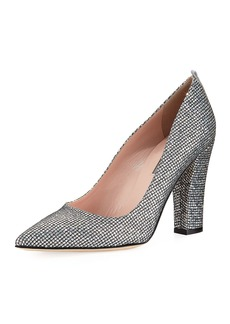 SJP by Sarah Jessica Parker Timmons Metallic Fabric Pump