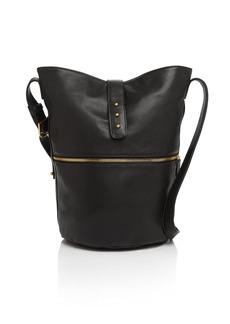 SJP by Sarah Jessica Parker Traveler Leather Bucket Bag