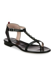 SJP by Sarah Jessica Parker Veronika Jeweled T-Strap Leather Sandals