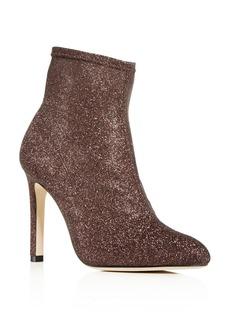 SJP by Sarah Jessica Parker Women's Apthorp Glitter Pointed Toe High-Heel Booties