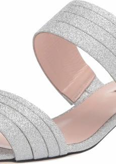 SJP by Sarah Jessica Parker Women's Bloom Block Heel Slide Sandal  3. M EU ( US)
