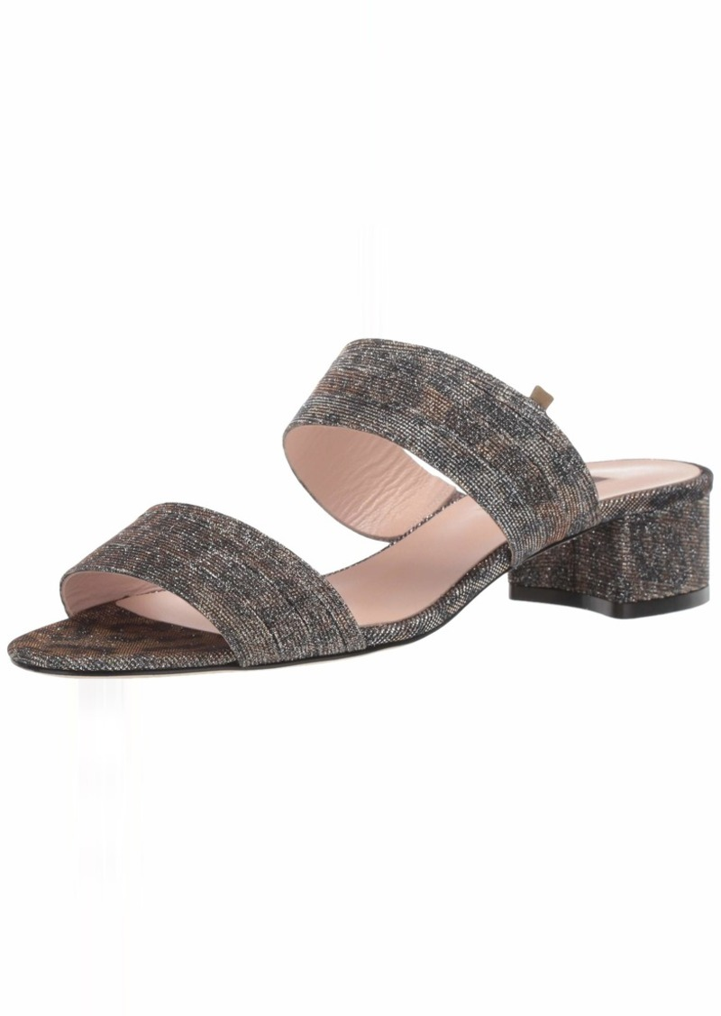 SJP by Sarah Jessica Parker Women's Bloom Block Heel Slide Sandal  41 M EU ( US)