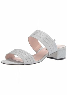 SJP by Sarah Jessica Parker Women's Bloom Block Heel Slide Sandal  41.5 M EU ( US)
