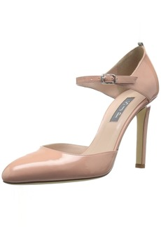 SJP by Sarah Jessica Parker Women's Campbell Closed Toe Ankle Strap Pump  3.5 B EU ( US)