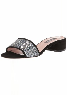 SJP by Sarah Jessica Parker Women's Ease Block Heel Slide Sandal  42 Medium EU ( US)