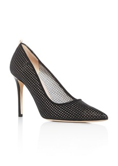 SJP by Sarah Jessica Parker Women's Fawn Fishnet Pointed-Toe Pumps