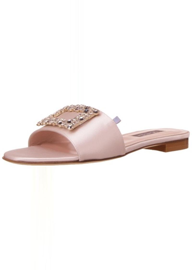 SJP by Sarah Jessica Parker Women's Grace Jeweled Slide Flat Sandal  39 B EU ( US)