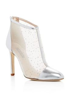 SJP by Sarah Jessica Parker Women's High Wire Glitter Mesh High-Heel Booties - 100% Exclusive
