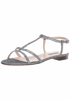 0069dcf1b SJP by Sarah Jessica Parker Women s Honoree Multi Strap Flat Sandal 40 M EU  (9.5