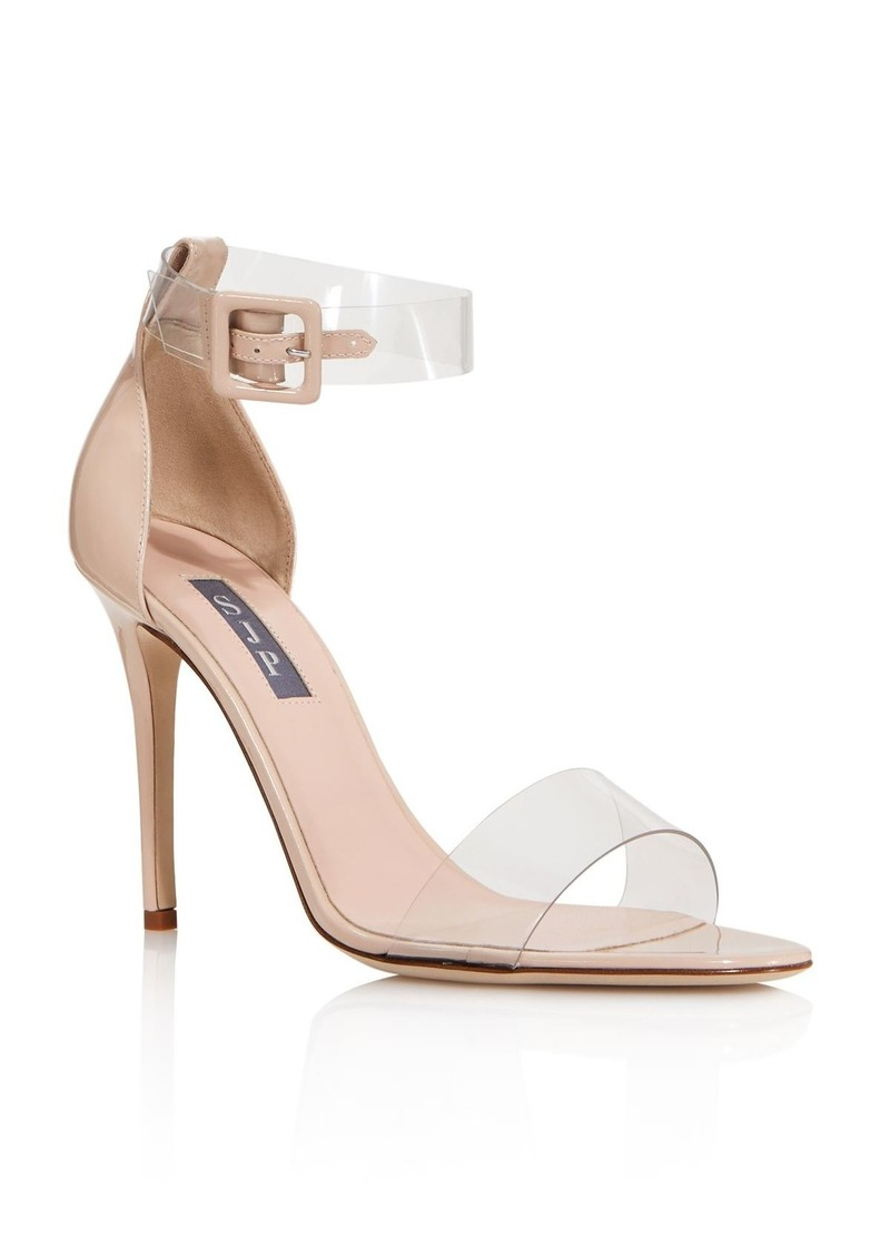 SJP by Sarah Jessica Parker Women's Lively Clear High-Heel Sandals - 100% Exclusive