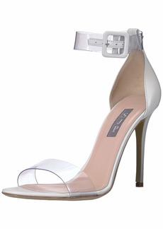 SJP by Sarah Jessica Parker Women's Lively Clear Strap Sandal  41.5 M EU ( US)