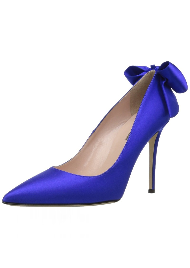 SJP by Sarah Jessica Parker Women's Lucille Pointed Toe Bow Pump  40.5 B EU (10 US)