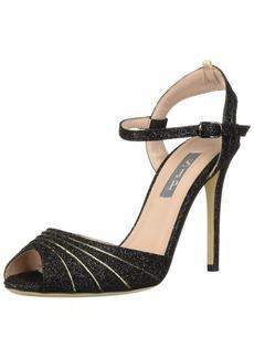 SJP by Sarah Jessica Parker Women's Monroe Ankle Strap Open Toe Sandal  40.5 B EU (10 US)