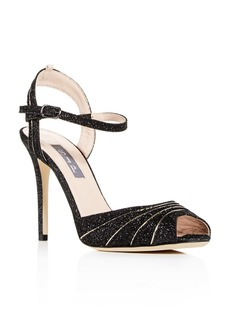 SJP by Sarah Jessica Parker Women's Monroe Glitter High-Heel Sandals