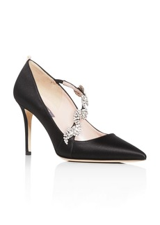 SJP by Sarah Jessica Parker Women's Noelle Embellished Pointed-Toe Pumps