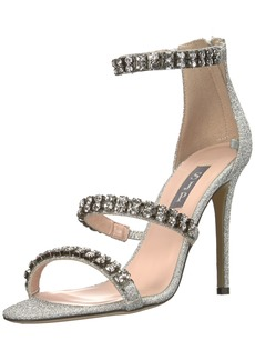 SJP by Sarah Jessica Parker Women's Orbit Crystal Multi Strap Sandal  3.5 B EU ( US)