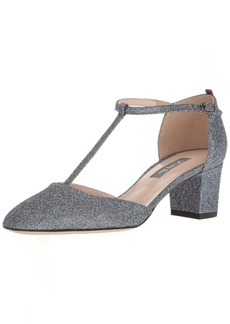 SJP by Sarah Jessica Parker Women's Pet Closed Toe T-Strap Block Heel  37 EU/ B US