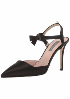 SJP by Sarah Jessica Parker Women's Pola Pointed Toe Bow Strap Pump  36 M EU ( US)