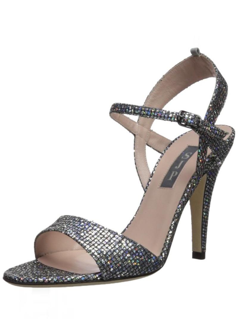 SJP by Sarah Jessica Parker Women's Ramsey Heeled Sandal scintillate 40 B EU ( US)