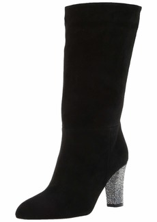 SJP by Sarah Jessica Parker Women's Reign Almond Toe Mid Calf Boot  39 M EU ( US)
