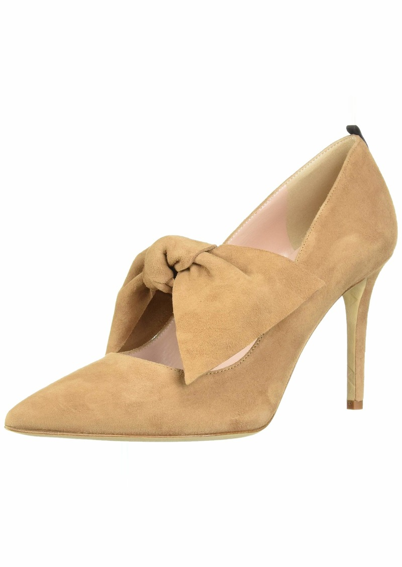 SJP by Sarah Jessica Parker Women's Roux 90 Pointed Toe Bow Strap Pump  40 B EU ( US)