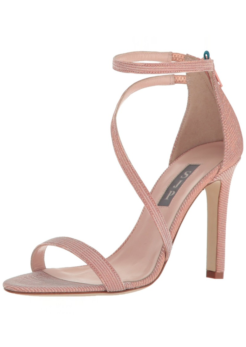 SJP by Sarah Jessica Parker Women's Serpentine Multi Strap Heel Sandal  3.5 B EU ( US)