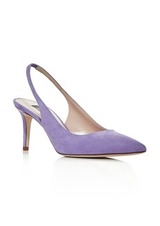 SJP by Sarah Jessica Parker Women's Simplicity Slingback Pointed-Toe Pumps