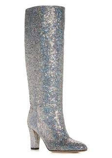 SJP by Sarah Jessica Parker Women's Studio Glitter High-Heel Boots