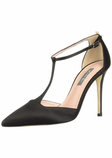 SJP by Sarah Jessica Parker Women's Taylor Pointed Closed Toe T-Strap Pump  40.5 B EU (10 US)