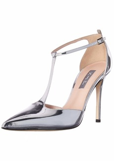 SJP by Sarah Jessica Parker Women's Taylor Closed Toe T-Strap Pump  3.5 B EU ( US)