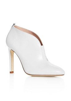 SJP by Sarah Jessica Parker Women's Trois Leather High-Heel Booties