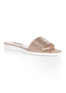 SJP by Sarah Jessica Parker Women's Tropez Glitter Slide Sandals - 100% Exclusive