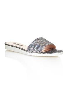SJP by Sarah Jessica Parker Women's Tropez Glitter Slide Sandals - 100% Exclusive