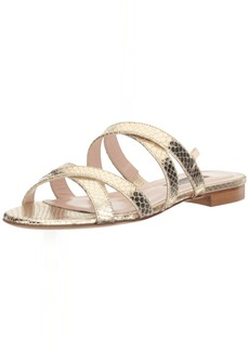 SJP by Sarah Jessica Parker Women's Weekend Multi Cross Strap Slide Sandal  3.5 EU/ B US