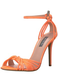 SJP by Sarah Jessica Parker Women's Willow Heeled Sandal  37.5 B EU (7 US)