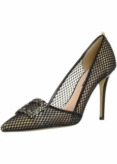 SJP by Sarah Jessica Parker Women's Windsor Pump Habana mesh 3.5 B EU ( US)