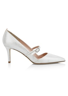 SJP Stardust Metallic Pumps