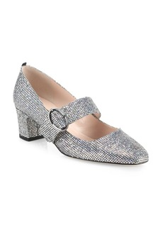 SJP Tartt Shimmer Mary Jane Pumps