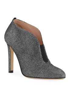 SJP Trois Glitter Slip-On Booties