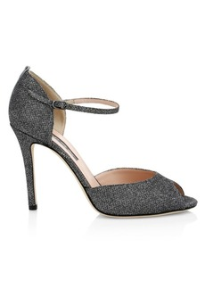 SJP Ursula Peep Toe Stiletto Sandals
