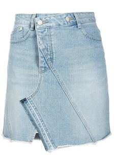 SJYP asymmetric denim skirt