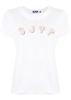 SJYP logo print short sleeve T-shirt