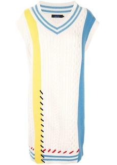 SJYP multi-knit jumper dress