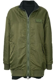 SJYP oversized reversible bomber jacket