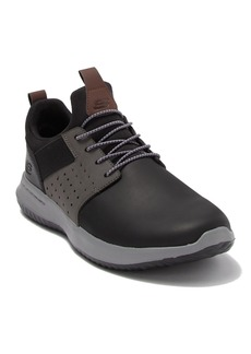 Skechers Delson Axton Leather Sneaker