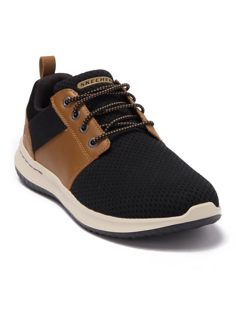 Skechers Delson Brant Knit Sneaker