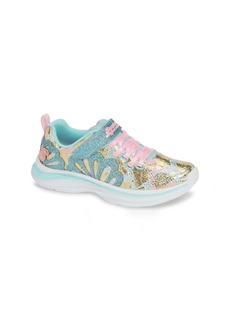 Skechers Double Dreams Shimmer Sneaker (Toddler, Little Kid & Big Kid)